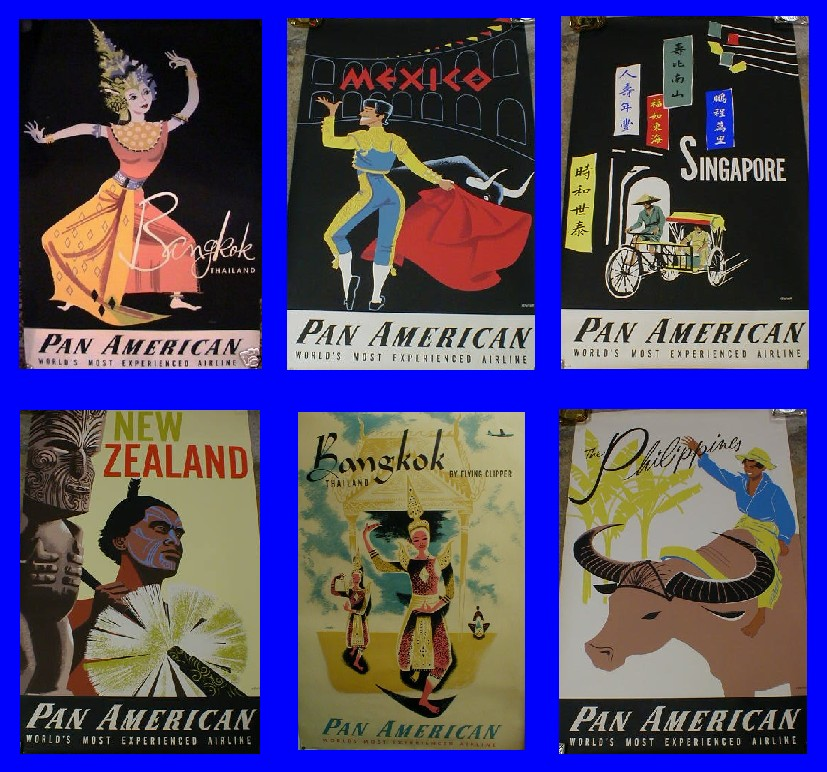 another style of 1950s posters